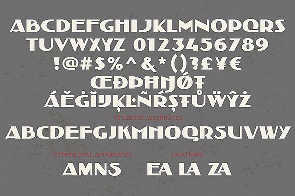 Amsterdamse School font Planjer Berlage